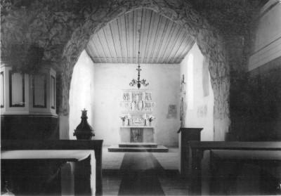 Blick in der Chor