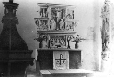 Altar in die Denkmalsliste aufgenommen