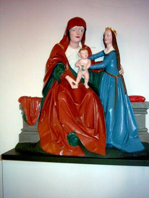 Wilmersdorfer Kirche Anna selbdritt