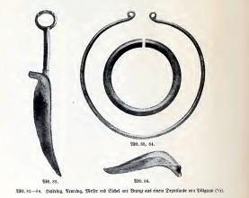 Fundstücke Bronzezeit Pillgram