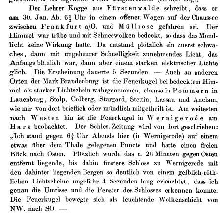 Wochenschrift für Astronomie, Meteorologie und Geographie, Band 11, 1868