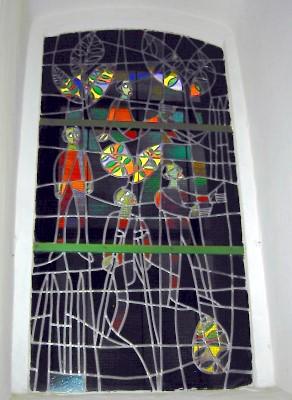 Fenster mit denen, die geheilt werden
