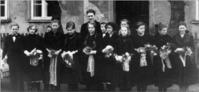 Konfirmation 1958 Jacobsdorf