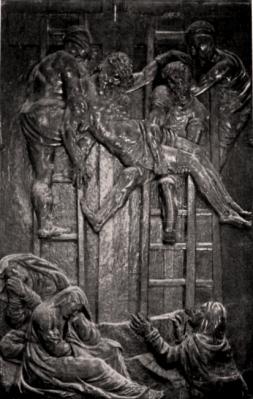 Treplin Relief in der Sakristei