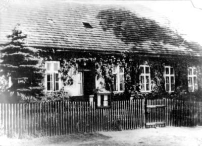 Pfarrhaus 1945