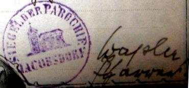 Unterschrift Ule